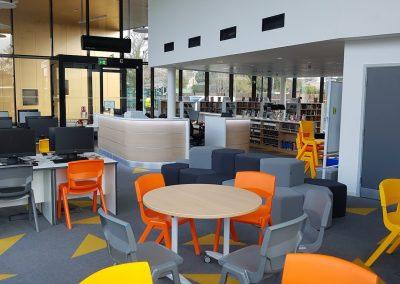 reception design | reception area design for wexham