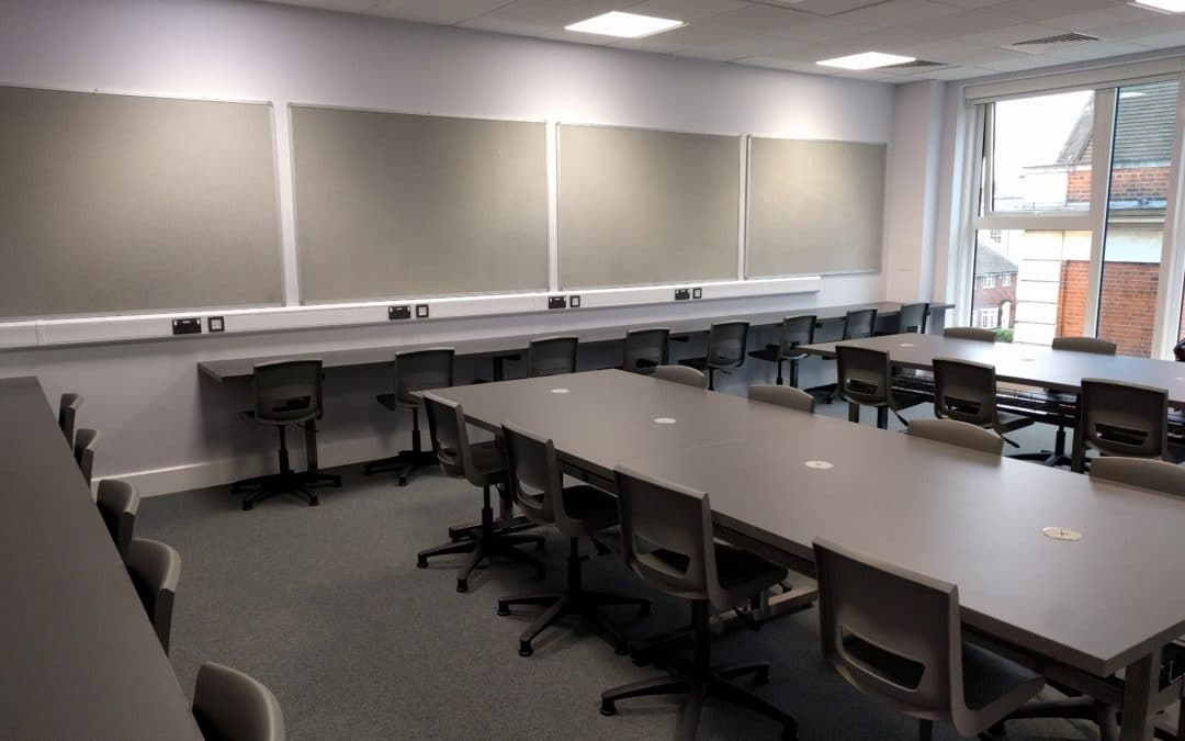 Stylish ICT Suite Refurbishment