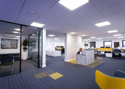 FF & E Consultancy for Davis Construction office refurb project!