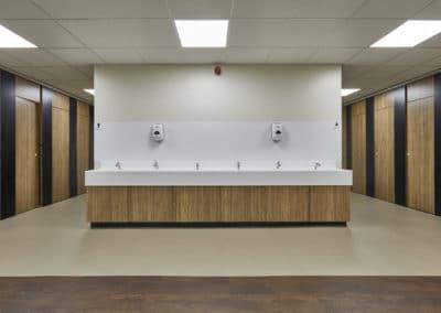 BrookhouseUK Education Furniture - Ormiston Academy Washroom