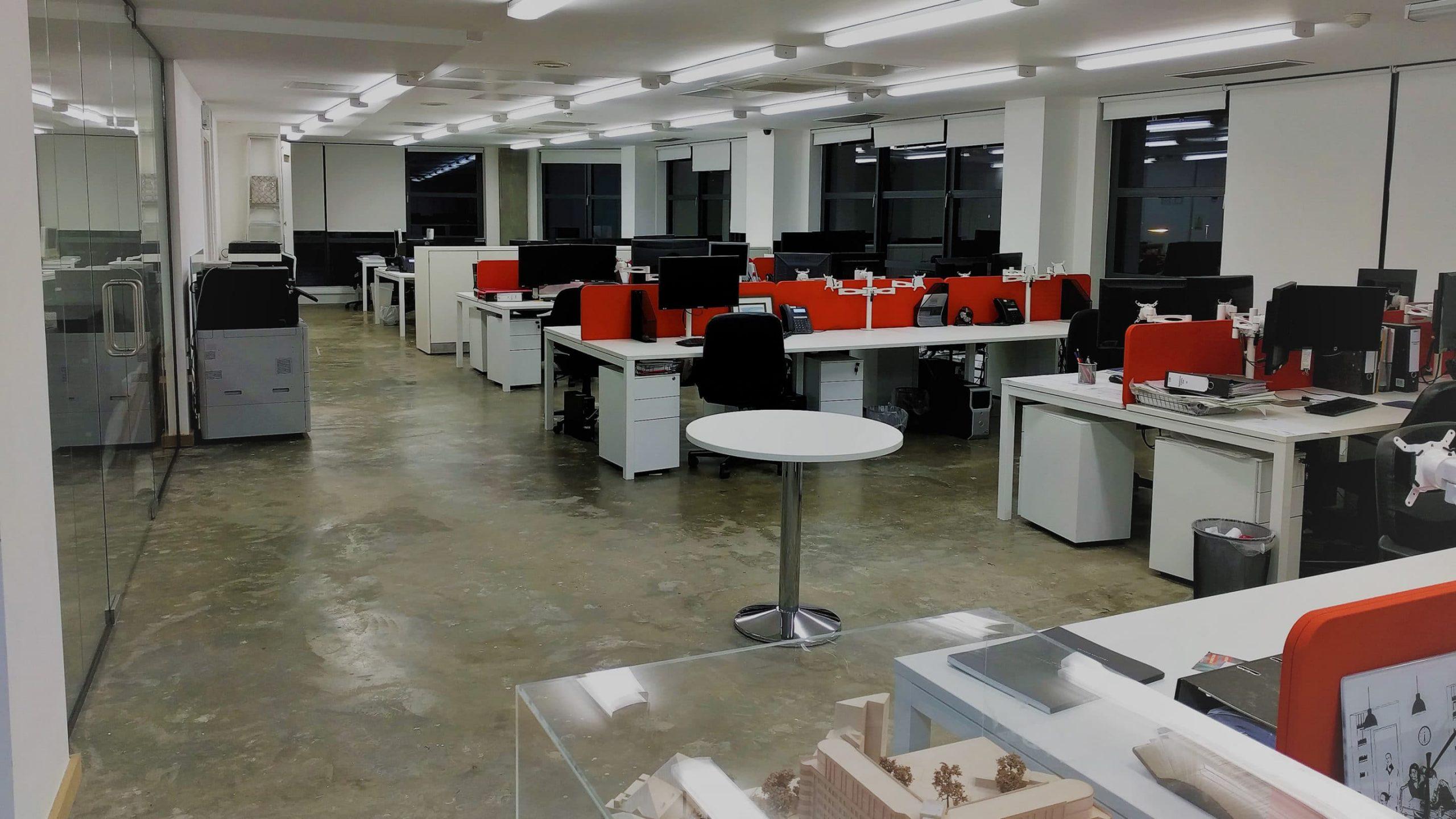 Brooks Murray office refurbishment project