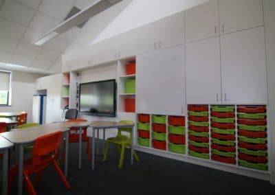 teacher wall with FF & E