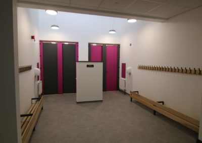 wash room refurbishment
