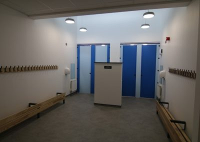 washroom refurbishment with storage