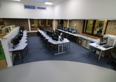BrookhouseUK - Parkside Library & IT suite