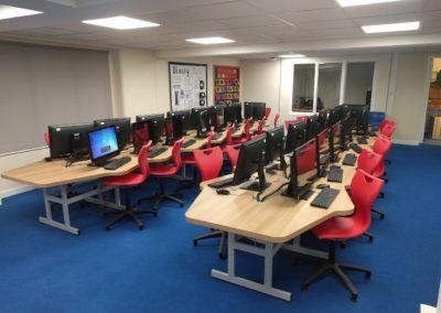 Brookhouseuk - St Josephs School - Library Refurbishment