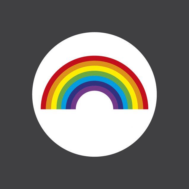 BrookhouseUK Education Furniture -500mm-Rainbow-Roundel