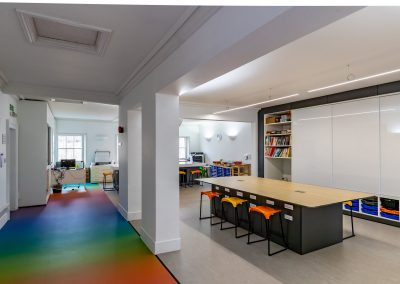 rookhouseUk Eaton Square - Art Room Teacher wall and Central storage