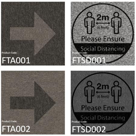 BrookhouseUK Education Furniture - Social Distance Carpet tiles