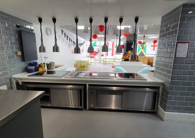 BrookhouseUK Education - Eaton Square School Cafeteria