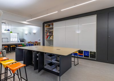 BrookhouseUk Eaton Square - Teacher wall and Central storage