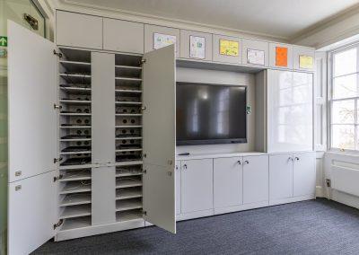 BrookhouseUK Education Furniture - Teacher wall Storage