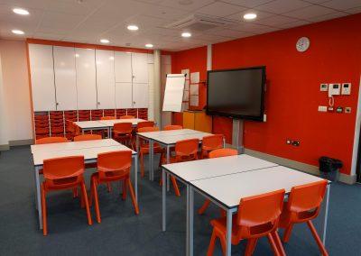 BrookhouseUK Education Furniture - Teacher Storage wall - Tidemill school
