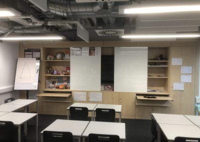 BrookhouseUK Education Furniture - Waddesdon storage wall,