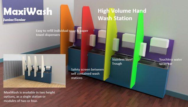 BrookhouseUK Education Furniture - MaxiWash