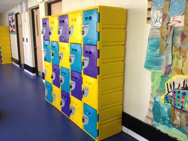 BrookhouseUK Educational Furniture - Washable locker