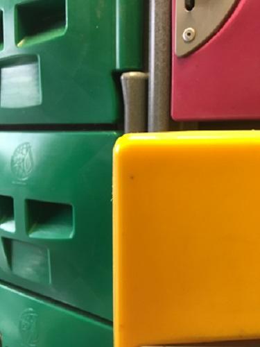 BrookhouseUK Educational Furniture - Washable lockers