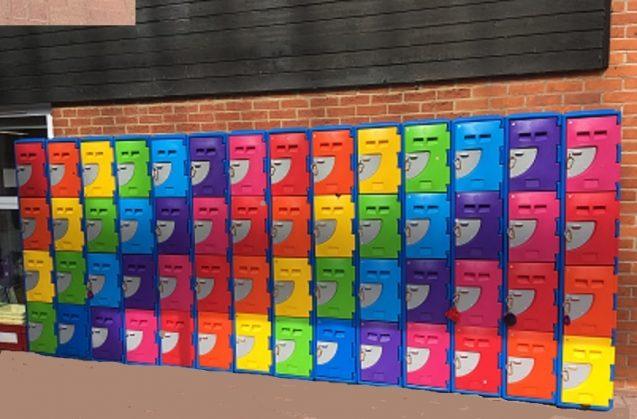 BrookhouseUK Educational Furniture - Washable locker Outdoor