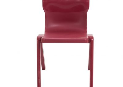 BrookhouseUK Education Furniture - Titan Chair - Burgundy Front