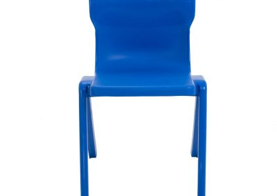 BrookhouseUK Education Furniture - Titan Chair - Blue Front
