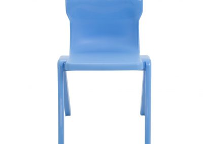 BrookhouseUK Education Furniture - Titan Chair - Sky Blue Front