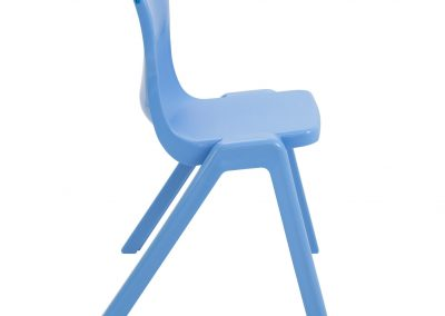 BrookhouseUK Education Furniture - Titan Chair - Sky Blue Side