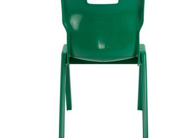 BrookhouseUK Education Furniture - Titan Chair - Green, Back
