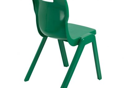 BrookhouseUK Education Furniture - Titan Chair - Green Side On