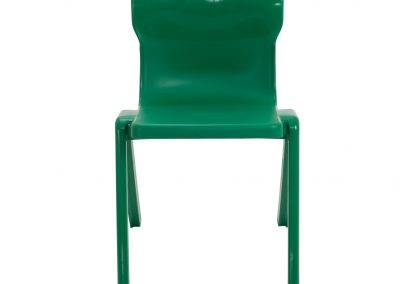BrookhouseUK Education Furniture - Titan Chair - Green Front