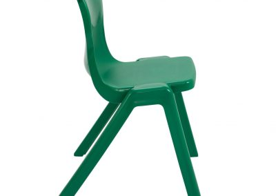 BrookhouseUK Education Furniture - Titan Chair - Green, Side