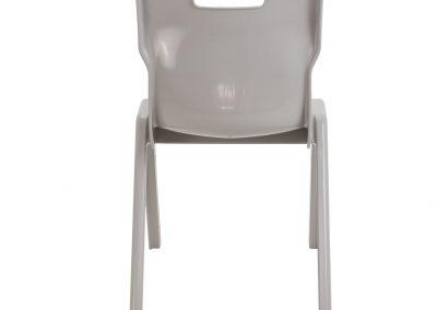 BrookhouseUK Education Furniture - Titan Chair - Grey, Back