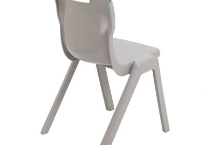 BrookhouseUK Education Furniture - Titan Chair - Grey Side On