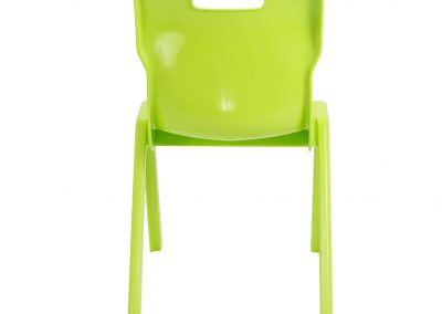BrookhouseUK Education Furniture - Titan Chair - Lime Back