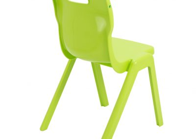 BrookhouseUK Education Furniture - Titan Chair - Lime Side On