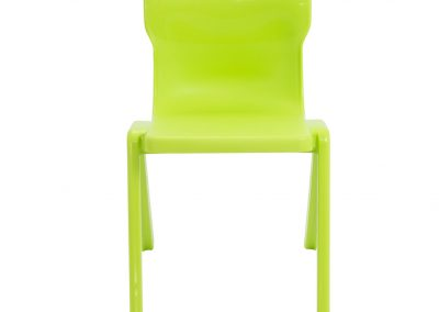 BrookhouseUK Education Furniture - Titan Chair - Lime Front