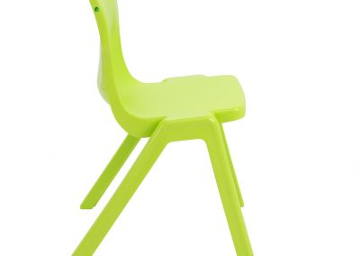 BrookhouseUK Education Furniture - Titan Chair - Lime Side