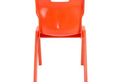 BrookhouseUK Education Furniture - Titan Chair - Orange Back