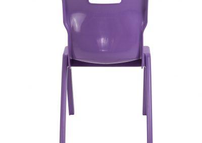 BrookhouseUK Education Furniture - Titan Chair - Purple Back
