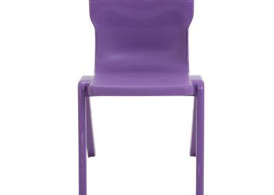 BrookhouseUK Education Furniture - Titan Chair - Purple Front