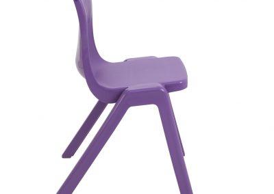 BrookhouseUK Education Furniture - Titan Chair - Purple Side