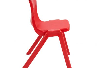 BrookhouseUK Education Furniture - Titan Chair - Red