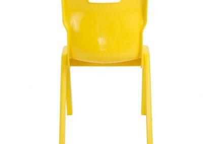 BrookhouseUK Education Furniture - Titan Chair - Yellow, Back
