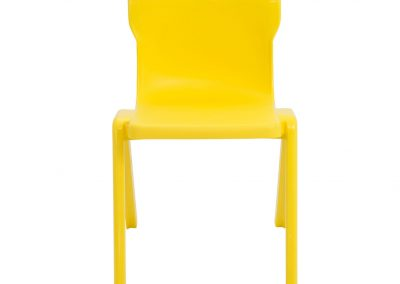 BrookhouseUK Education Furniture - Titan Chair - Yellow, Front
