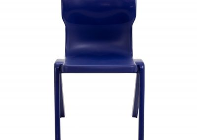 BrookhouseUK Education Furniture - Titan Chair - Midnight Blue Front