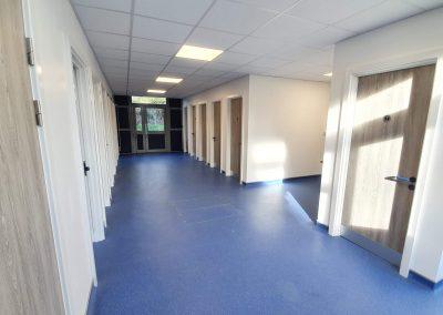 Watford Grammar Girls Technology room converted to a washroom block