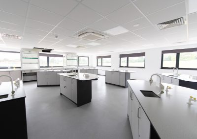BrookhouseUK Education Furniture - Solihull 6th Form College - Science Lab