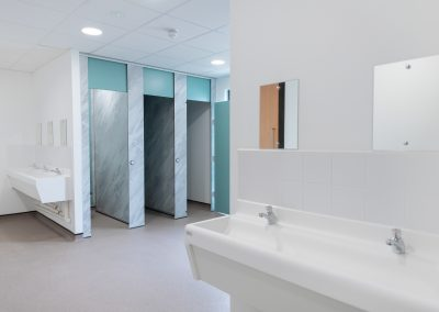 BrookhouseUK Education Furniture - Solihull 6th Form College - Washroom