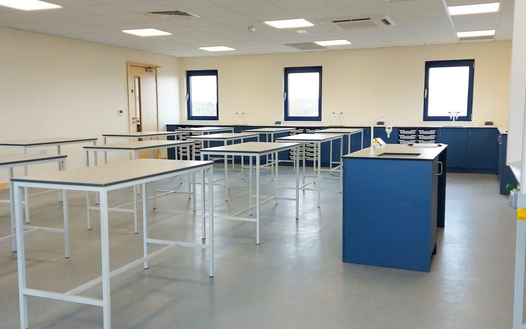 The Joseph Whitaker School – Laboratory Refurbishment